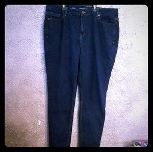 Lane Bryant Skinny Jeans Plus Size 20 Regular